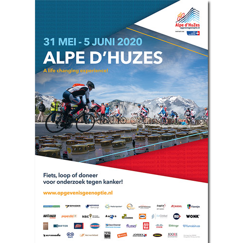 ALPE D'HUZES POSTER 2020