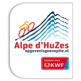 ALPE D'HUZES/KWF LOGO'S